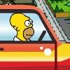 Jugar Homero monstruoso coche
