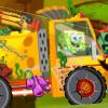 Camiones en Halloween