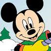 Mickey Esquiador