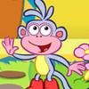 Dora La exploradora en ruta de Fresas