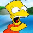Escapando junto a Bart Simpson