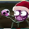 araña contra navidad
