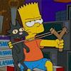 Rompiendo Macetas Con Bart Simpson