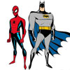 Batman Y Spiderman Trapecistas