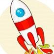 Cohete Por Los Cielos