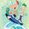 Surfeando Con Phineas, Ferb Y Candace