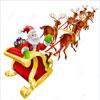 Carreras En Trineo Con Santa