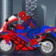 La Super Moto De Spider Man