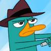 Perry en Moto