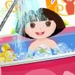 Baño Matutino con Dora