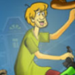 Carrera de triciclos con Scooby Doo