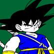 Colorear Vestuario de Goku
