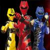 Power Rangers Academia De Entrenamiento