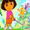 Jugando MiniGolf Con Dora