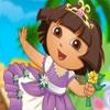 Mundo De Flores Con Dora