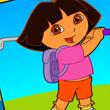 En El Golf Con Dora