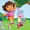 Dora Atrapando Comida