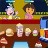 Dora La Exploradora En Su Tienda