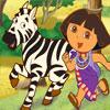 Cuidando A Una Zebra