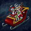 Zombies Atacan A Santa Claus